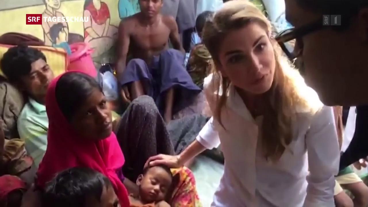 Geberkonferenz für Rohingyas