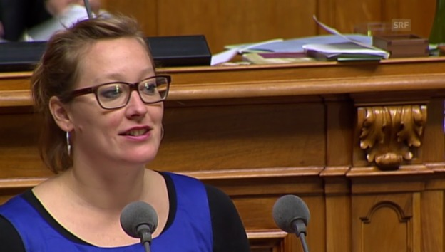 Video «Grüne-Nationalrätin Trede: «Der Bildungsstand muss gehalten werden»» abspielen