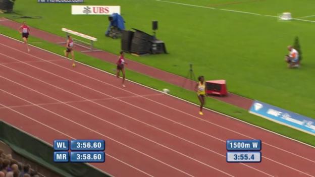 Video «1500 m Frauen» abspielen