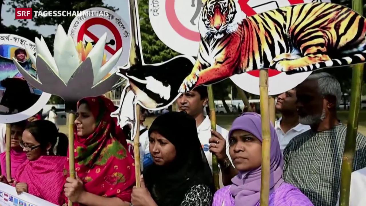 Proteste vor Eröffnung des Klimagipfels