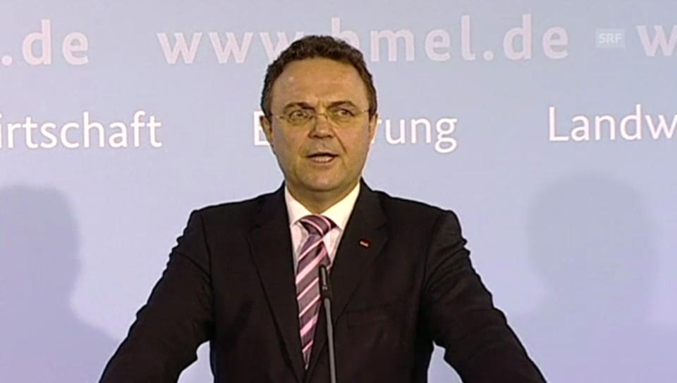 Rücktrittserklärung von Hans-Peter Friedrich