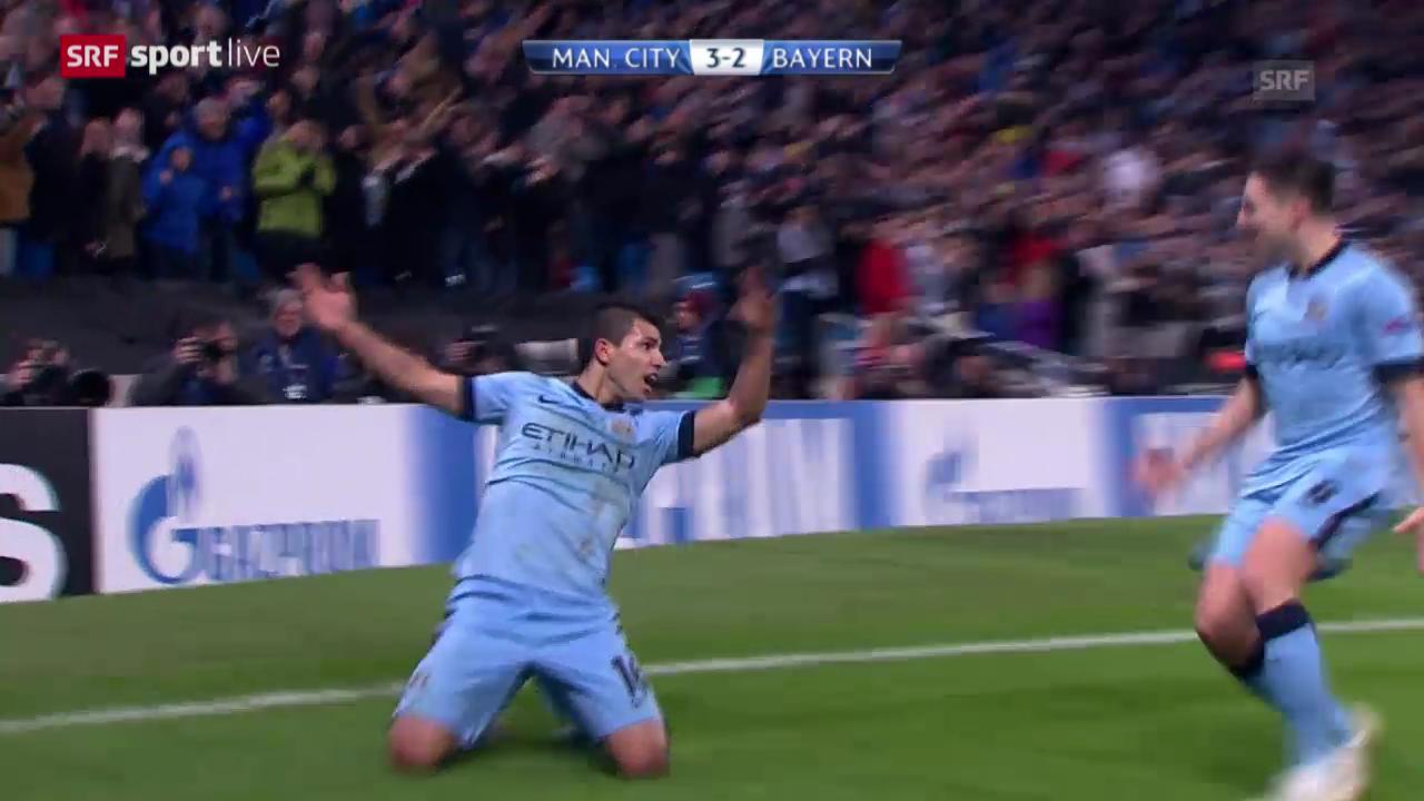 Fussball: Champions League, Manchester City - Bayern München