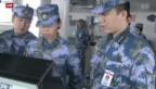 Video «Japan protestiert mit Manöver» abspielen