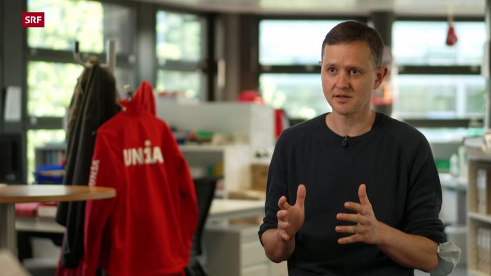 Roman Künzler, Gewerkschaft Unia: «DPD erwirtschaftet Profit, übernimmt aber keine Verantwortung für die Angestellten.»