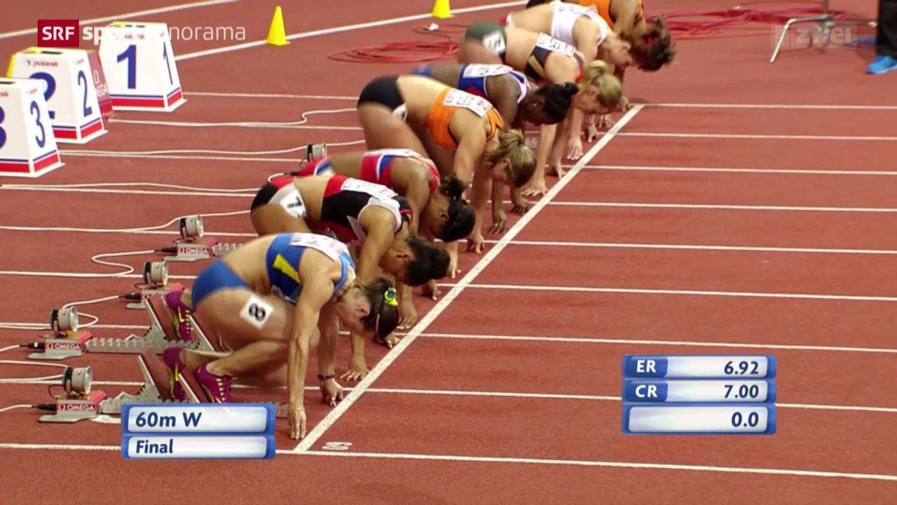 Leichtathletik: Sprint-Finals in Prag