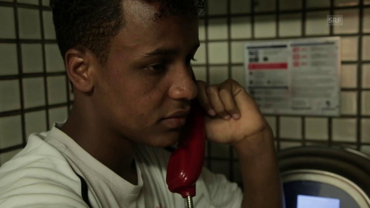 Maslah vermisst seine Mutter in Somalia