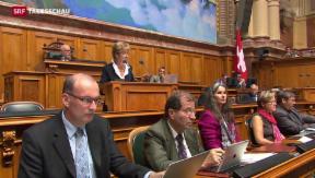 Video «Bunte Allianz bringt Kartellgesetz zu Fall» abspielen
