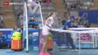 Video «Tennis: WTA Peking, Bacsinszky - Suarez Navarro» abspielen