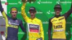 Video «Schluss Etappe Tour de Romandie» abspielen