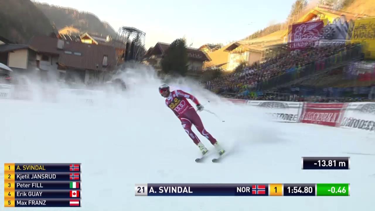 Ski Alpin, Weltcup Männer in Gröden, Abfahrt Svindal