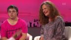Video «Jonas Schmid und Erika Suter» abspielen