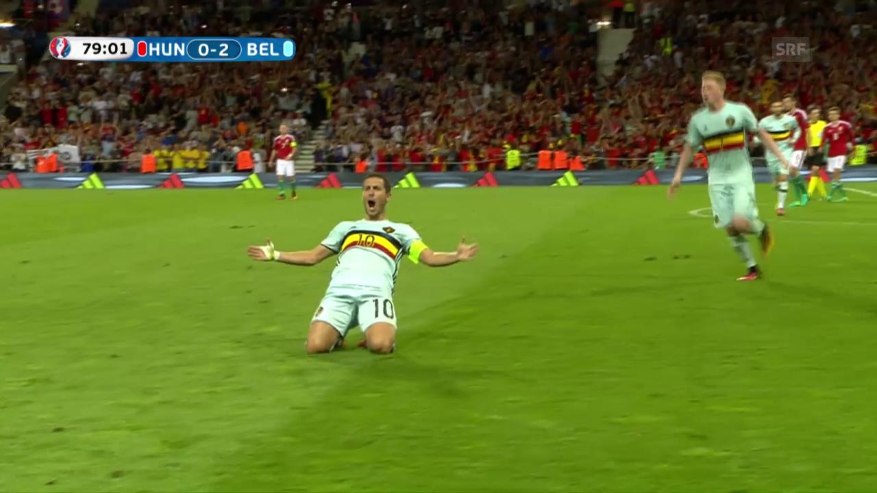Belgiens Doppelschlag gegen Ungarn