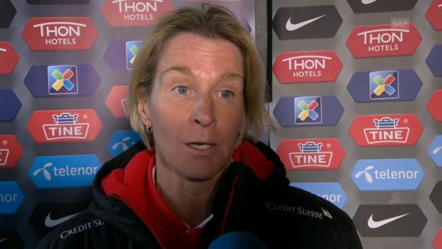 Video «Voss-Tecklenburg: «Das 2:1 darf so nicht passieren»» abspielen