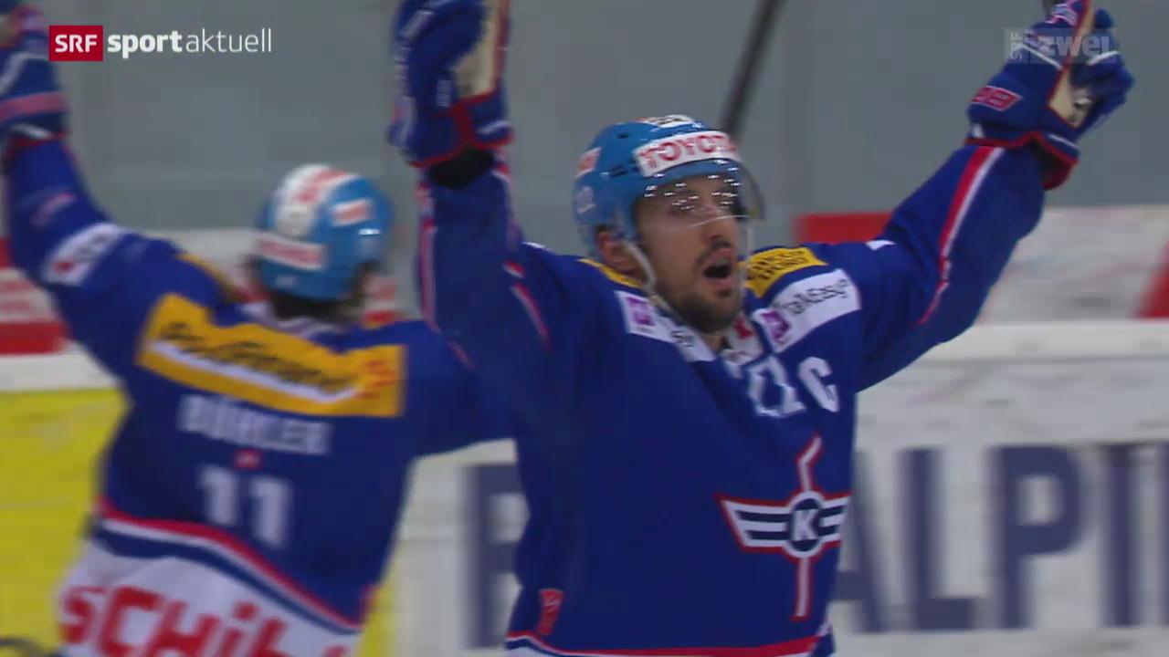 Eishockey: Playoff-Halbfinals, Kloten - Freiburg