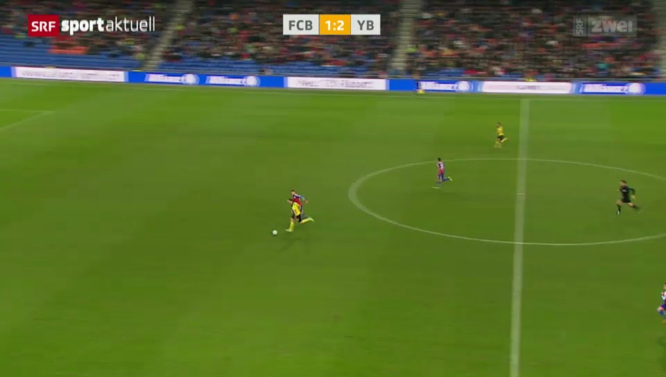 Fussball: Super League, Verletzung von Alexander Gerndt