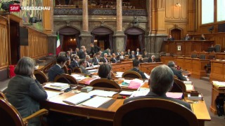 Video «Ständeratsdebatte über Unternehmenssteuerreform III» abspielen