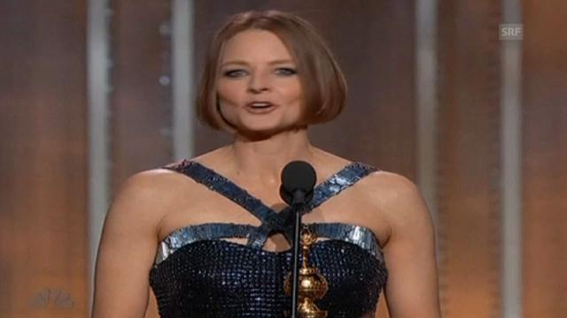 Jodie Foster outet sich