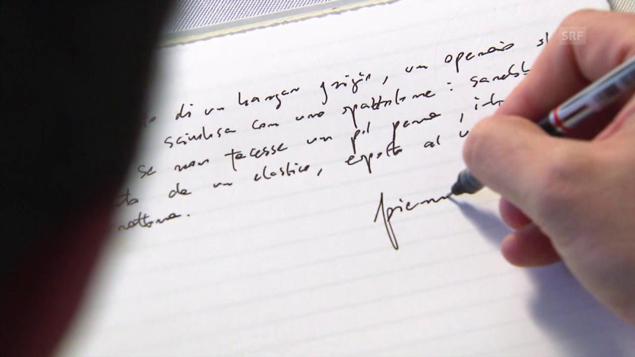 Pierre Lepori über seinen ersten Satz