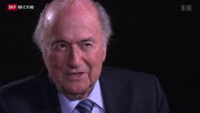 Video «FOKUS: Exklusives Interview mit Blatter» abspielen