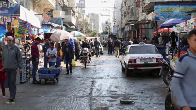 Video «In Gaza sind 80 Prozent auf internationale Hilfe angewiesen.» abspielen