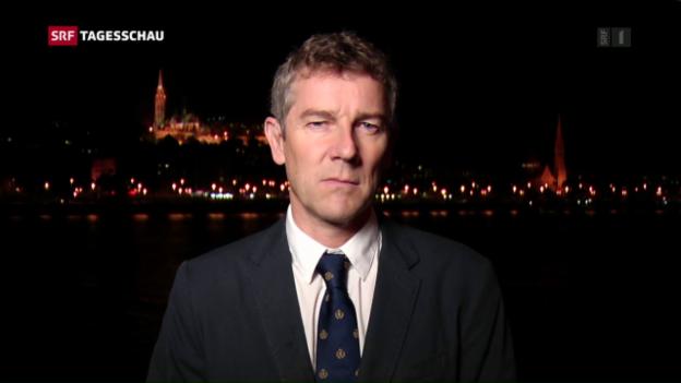 Video «SRF-Korrespondent Peter Balzli über Orbans Handeln nach dem Referendum» abspielen