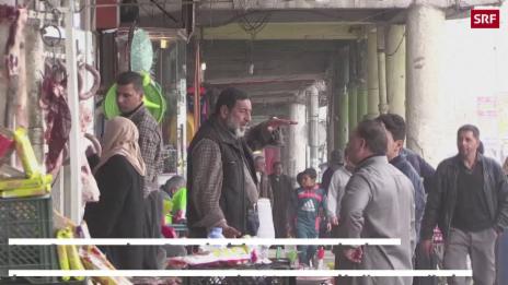 Link öffnet eine Lightbox. Video Kampf um West-Mossul – Alltag im Osten abspielen