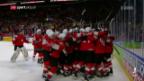 Video «Die Schweiz schlägt Kanada im WM-Halbfinal» abspielen