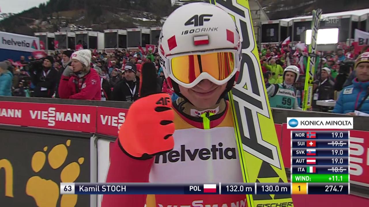 Skispringen: Weltcup in Engelberg («sportlive» vom 22.12.2013)