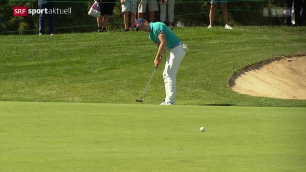 Video «Golf: Porträt Joel Girrbach» abspielen