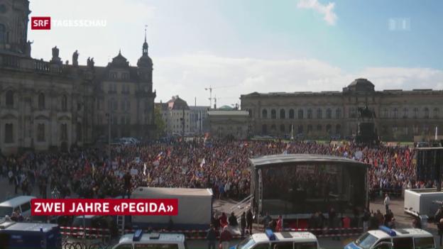 Video «Zwei Jahre «Pegida»» abspielen