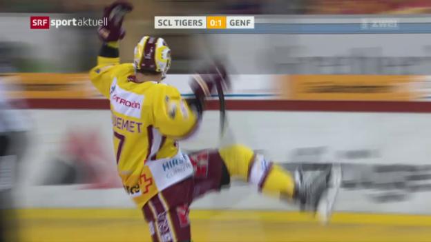 Video «Genf beendet Niederlagenserie eindrücklich» abspielen