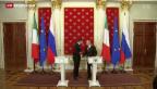 Video «Renzi bei Putin» abspielen