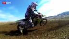 Video «Paralympics: Skifahrer Michael Brügger beim Motocross» abspielen
