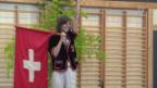 Video «Annina Frey: Hoch die Fahne!» abspielen