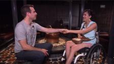 Video «Querschnittlähmung - Gespräch mit Chantra Flückiger» abspielen