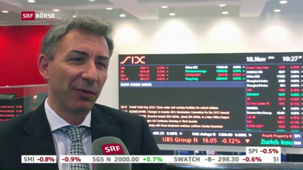 Video «SRF Börse vom 18.11.2016» abspielen