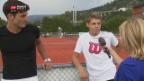 Video «Wawrinka gibt Schweizer Tennisnachwuchs neuen Auftrieb» abspielen