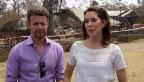 Video «Volksnah: Dänische Royals besuchen Buschbrandopfer» abspielen