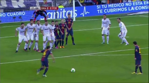 Video «Copa del Rey: Hinspiel Real Madrid - Barcelona» abspielen