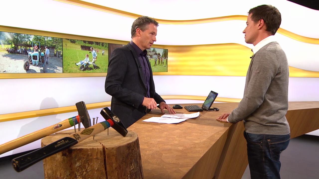 Studiogespräch mit Christof Kaufmann von Swiss Olympic