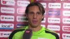 Video «Fussball: Reaktionen beim FC Basel» abspielen