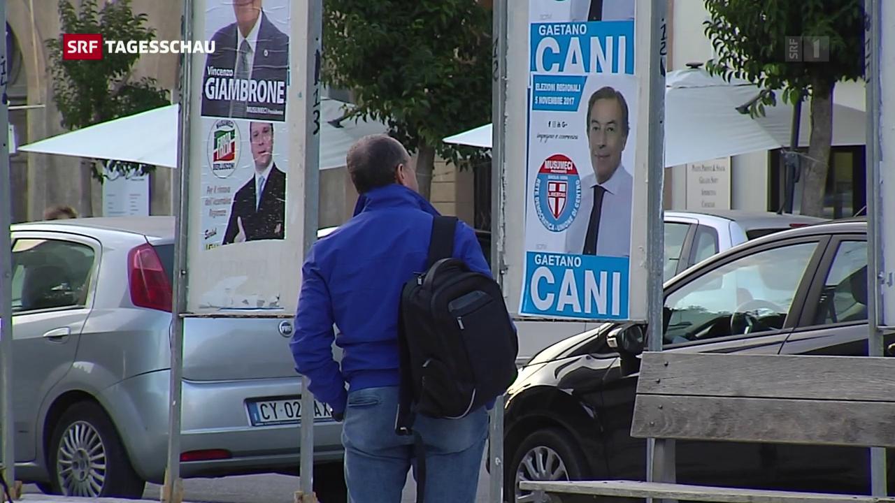 Sizilianer wählen Regionalparlament
