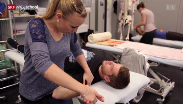 Video «Berufsbild: Physiotherapeutin FH (BSc)» abspielen