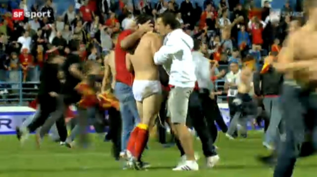 Video «EURO-Quali: Montenegro - England («sportaktuell»)» abspielen