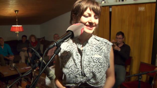 Video «Olivia Pedroli und Anaïs Mitchell: «River»» abspielen