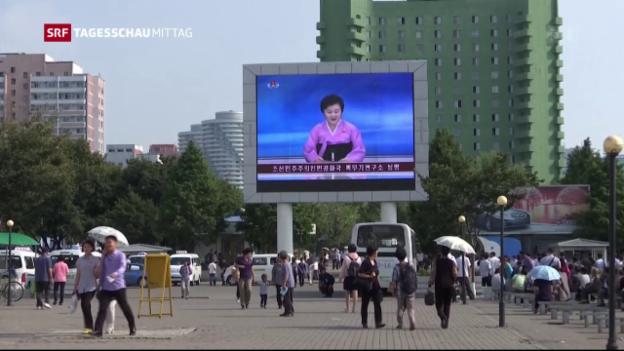 Video «Nordkorea testet Atombombe» abspielen