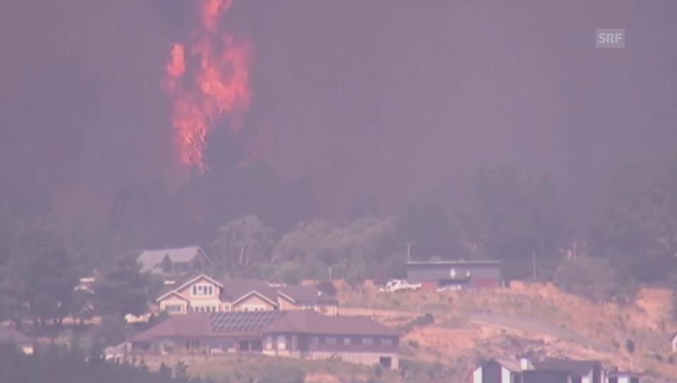 Christchurch steht in Flammen