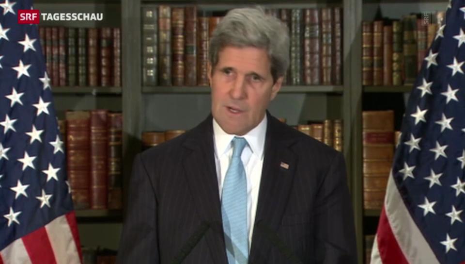 Ergebnisloses Treffen zwischen Kerry und Lawrow