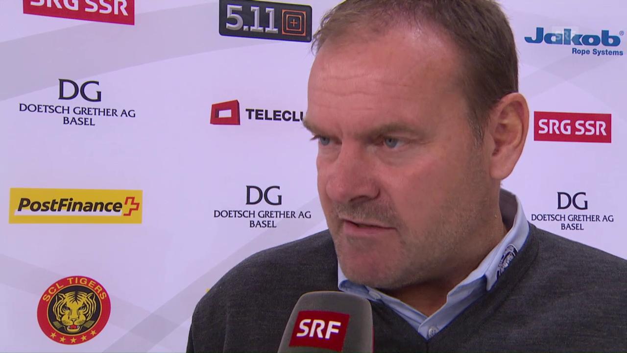 Ehlers: «Im 1. Drittel haben wir sehr gut gespielt»