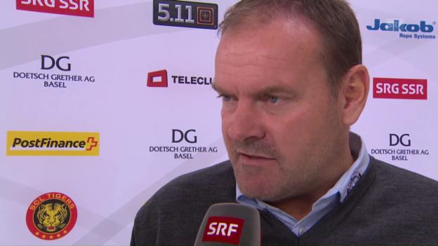 Video «Ehlers: «Im 1. Drittel haben wir sehr gut gespielt»» abspielen